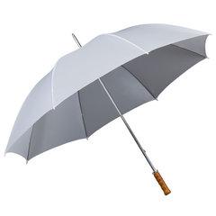 Weiße Regenschirme