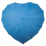 Herz Regenschirm Blau