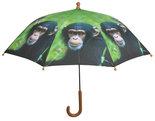 Kinderregenschirm-Affe