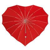 Herz Regenschirm Rot