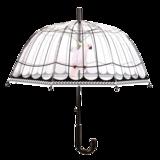 Regenschirm durchsichtig VogelKäfig