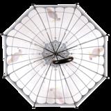 Transparant Regenschirm Vögel