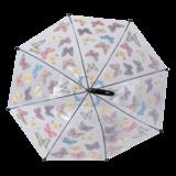 Durchsichtiger Regenschirm Schmetterling_