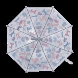 Hunden und Katze Regenschirm