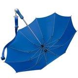 Falcone® Wander-Trekkingschirm mit Schulterband Blau_