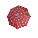 Knirps Taschenregenschirm rot und navy
