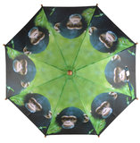 Kinderregenschirm Affe_