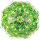 Durchsichtiger Regenschirm mit Baum Motiv