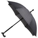 Falcone® Regenschirm Quadrate mit Gehstock_