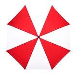 werberegenschirm rot weiß
