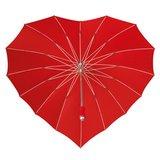Herz Regenschirm Rot - Ich liebe dich!_