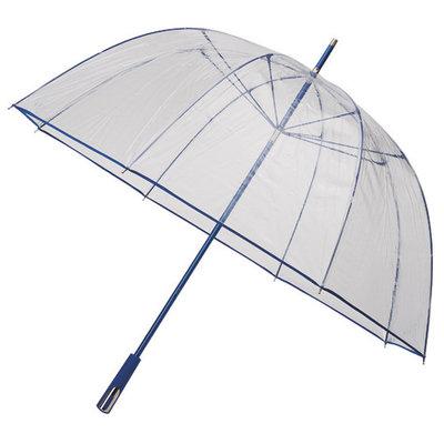 Golfregenschirm Transparent Blau Ø111cm