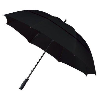 ÖKO Golfregenschirm Schwarz