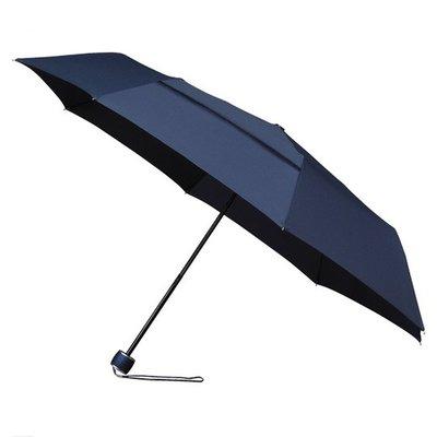 ÖKO Taschenregenschirm Dunkel Blau Windsicher