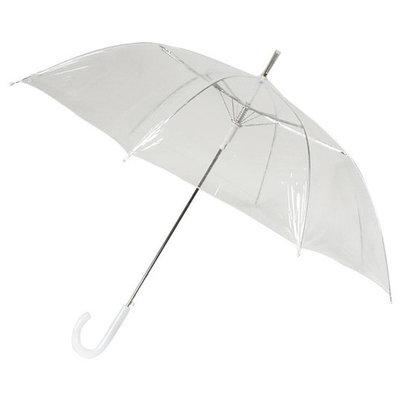Durchsichtiger Stockregenschirm Ø92cm