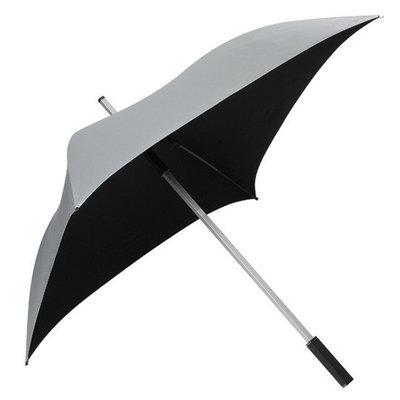 All Square® Regenschirm Silberfarbig