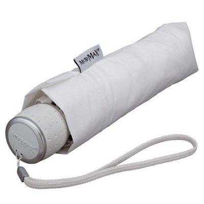 miniMAX® Taschenschirm Weiß