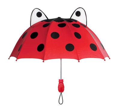 Kidorable Regenschirm Marienkäfer