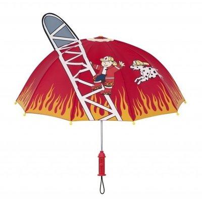 Kidorable Regenschirm Feuerwehr