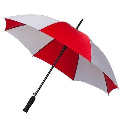 Falcone® Golfschirm Rot/Weiß, Automatik