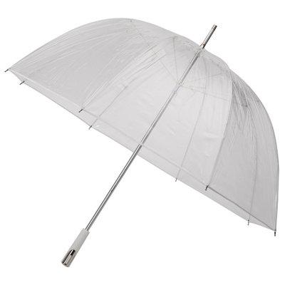 Durchsichtiger Golfregenschirm bedrucken