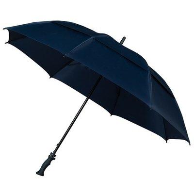Falcone® Sturmschirm Golfschirm Dunkelblau