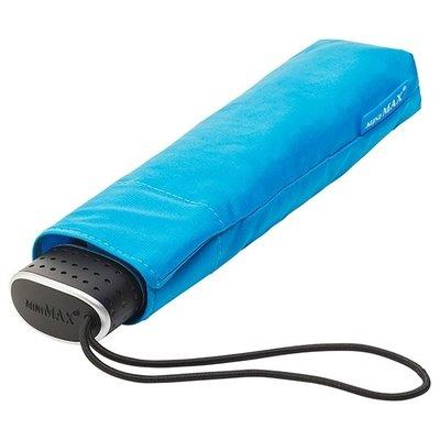 miniMAX® Ultraflacher Taschenschirm Blau