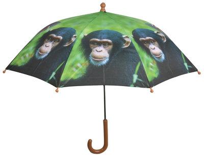 Kinderregenschirm Affe