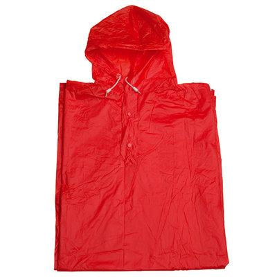 Regenponcho Rot Einheitsgrösse.