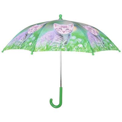 Kinderregenschirm Kätzchen - Grau