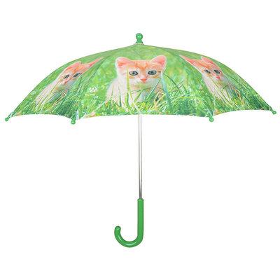 Kinderregenschirm Kätzchen - Orange