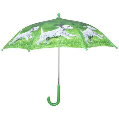Kinderregenschirm Hündchen schwarz/weiß