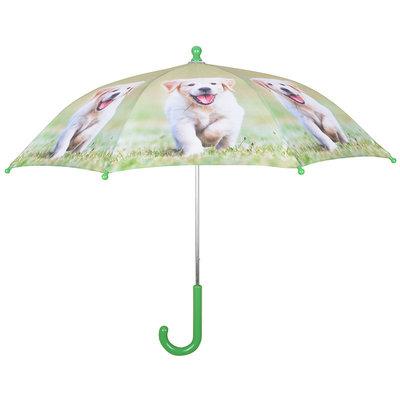Kinderregenschirm Hündchen - Blond