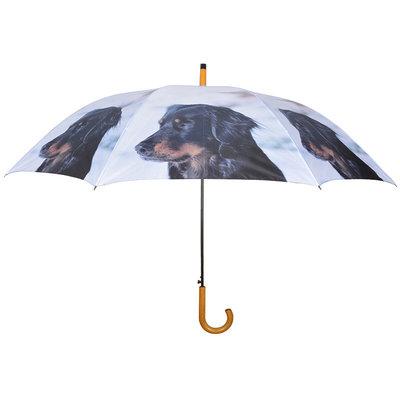 Hunde Regenschirm - Schwarz