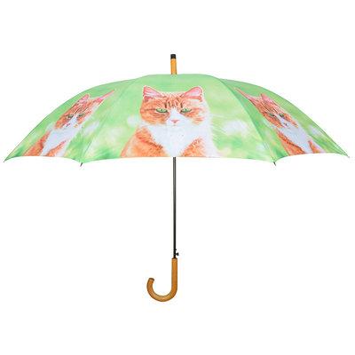 Katze Regenschirm - Orange