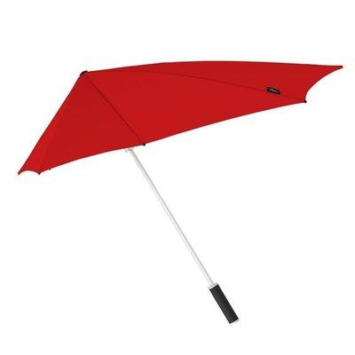Aerodynamische Sturm Regenschirm Rot