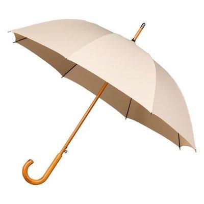 Falcone Windproof Luxus Stockschirm Cremefarbig