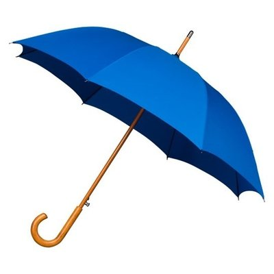 Falcone Windproof Luxus Stockschirm Blau