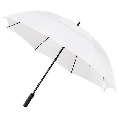 ÖKO Golfregenschirm Weiß