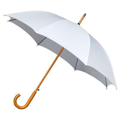Falcone Windproof Luxus Stockschirm Weiß