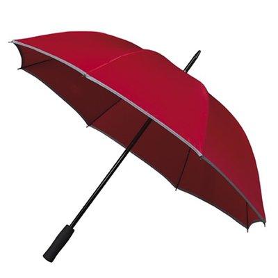 Reflektierender Golfregenschirm Rot