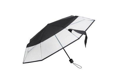 Falconetti® Taschenschirm Transparent Windsicher