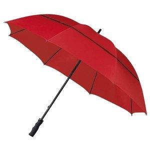 ÖKO Golfregenschirm Rot