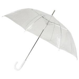 Durchsichtiger Stockregenschirm Automatik