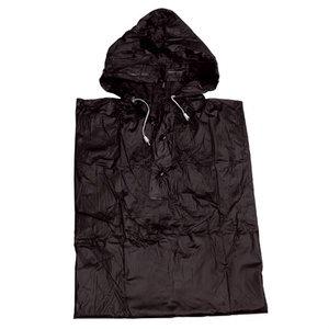 Regenponcho Black - Einheitsgrösse