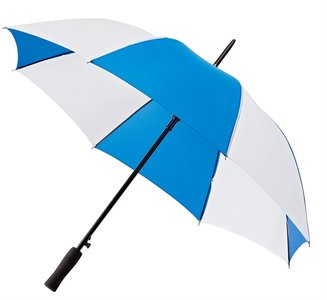 Falcone® Golfschirm Blau/Weiß, Automatik