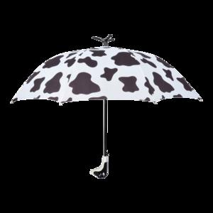 Regenschirm Kuh