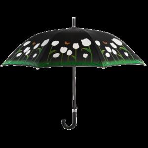 NEU - NEU - NEU Regenschirm Tulpen mit Farbwechsel