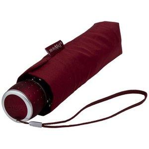 miniMAX® Taschenschirm Bordeaux rot