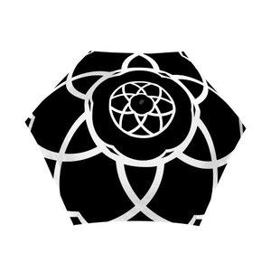 Taschenregenschirm Blume